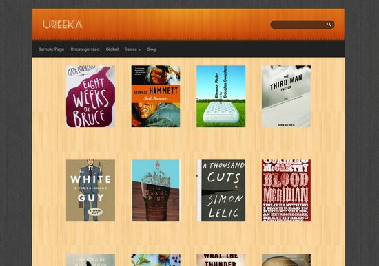Ureeka Totally Free Book Review Theme
