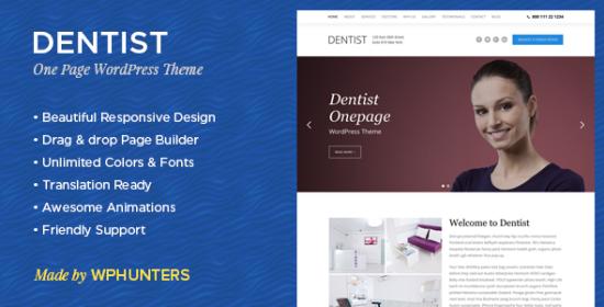 Dentist WP Theme
