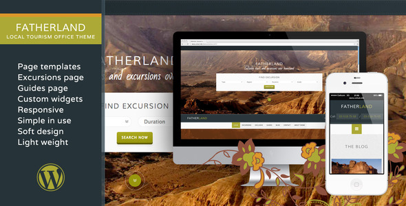 Fatherland Local Tourism Travel Agency Excursions Theme