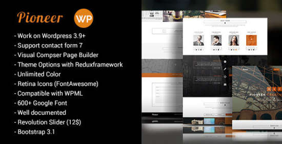 Pioneer WordPress Theme