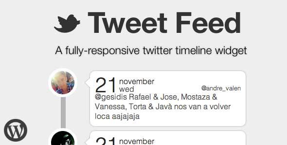 Twitter Updates Widget WordPress Plugin