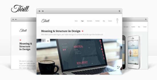 Thrill WordPress Theme