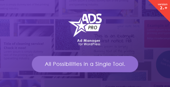 Adverts Pro Multipurpose WordPress Ad Supervisor