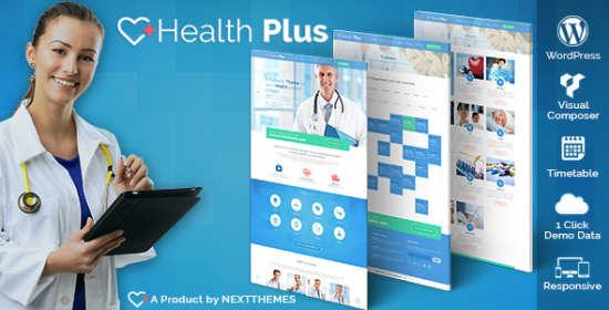 Health Plus Health & Clinic WordPress Theme