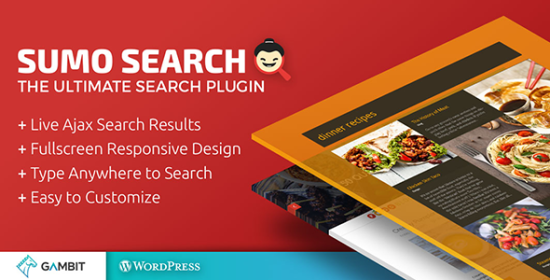 Real-Time Ajax Website Research Sumo Search Wp Plugin
