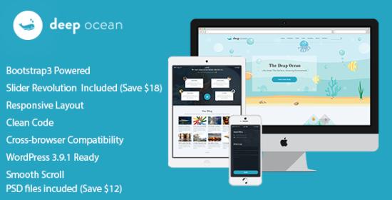 DeepOcean WordPress Theme