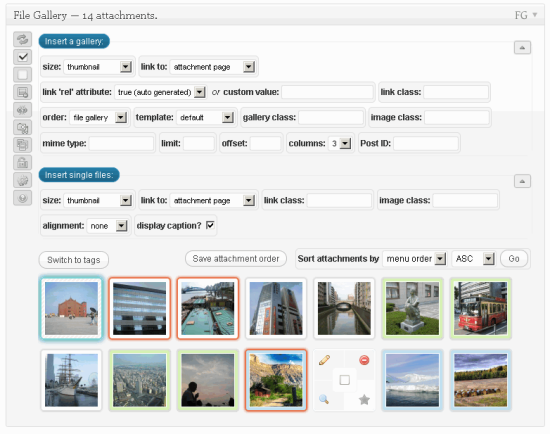 File Gallery Plugin