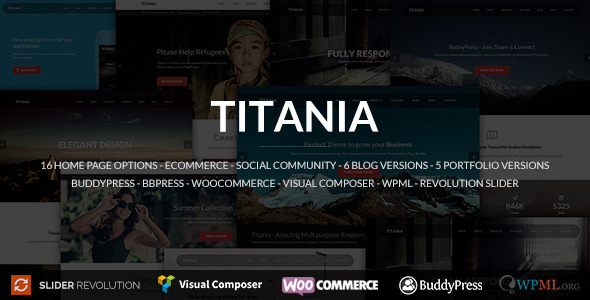 Titania Multipurpose WordPress Theme