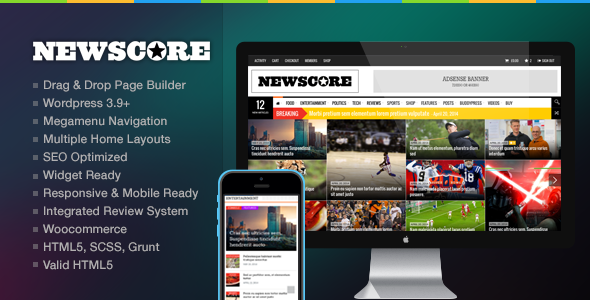 Newscore A Blog Magazine And News Theme For WP