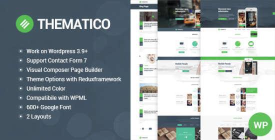 Thematico WordPress Theme