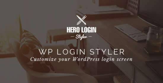 Hero Login Styler Wp Login Screen Customizer