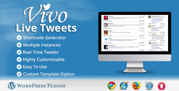 Vivo Live Tweets WordPress Plugin