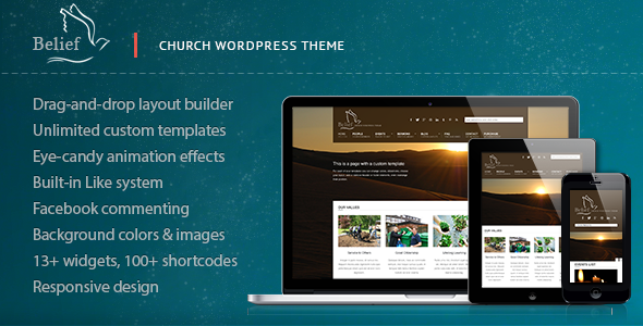 Belief Church WordPress Theme
