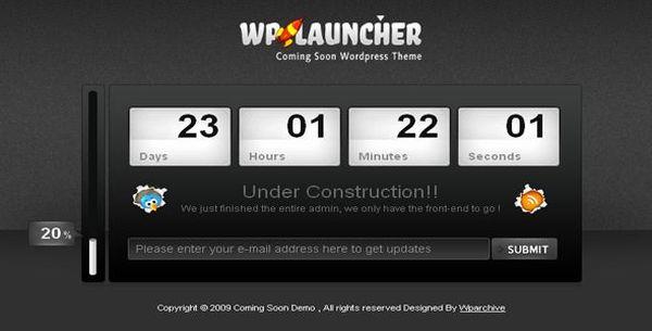 WPlauncher WordPress Theme