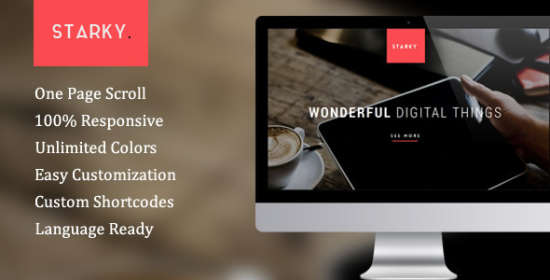 Starky WordPress Theme