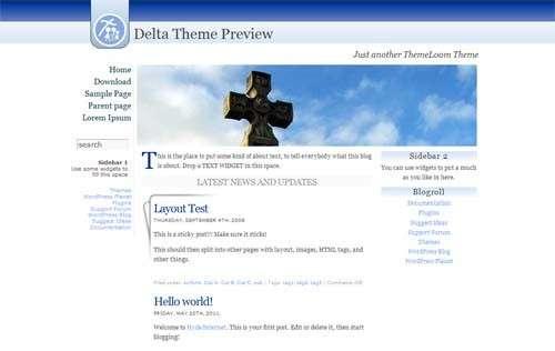 Delta WordPress Theme