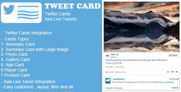 Way Tweet Card WordPress Plugin